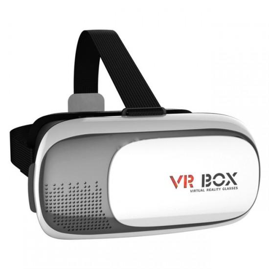 3D Виртуални очила VR Box, Бели