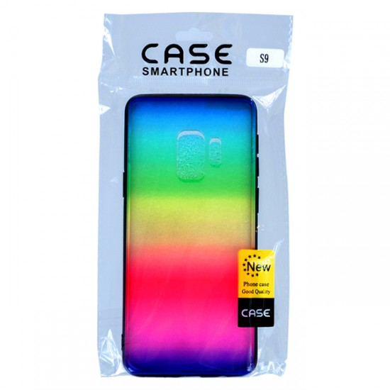 Back Case MBX TPU+PC - Samsung J600 Galaxy J6, Multicolor, Rainbow 3