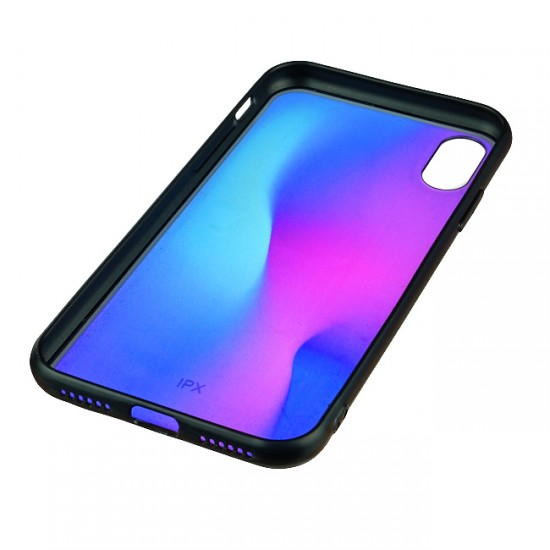 Back Case MBX TPU+PC - Xiaomi Redmi Note 6 Pro, Multicolor, Purple-blue