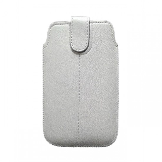 Case pouch MBX ECO - iPhone 5 and similar size, White