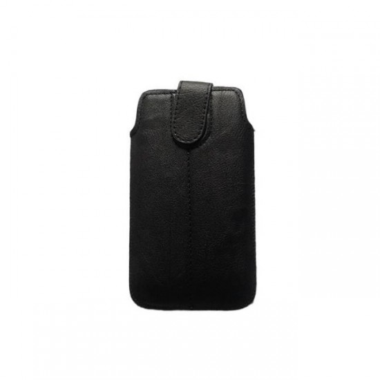 Case pouch MBX ECO - iPhone 5 and similar size, Black