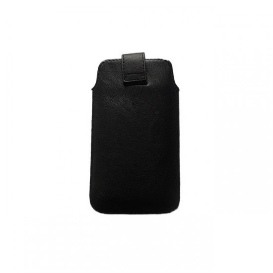 Case pouch MBX ECO - Samsung G920 S6 and similar size, Black