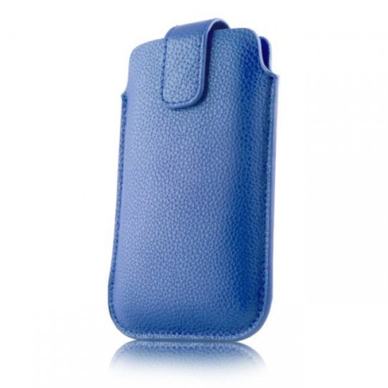 Case pouch MBX ECO - Samsung G920 S6 and similar size, Blue