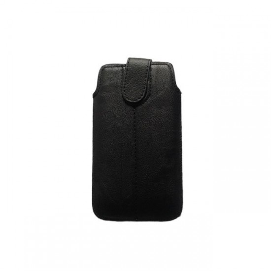 Case pouch MBX ECO - Samsung i9100 S2 and similar size, Black