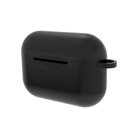 Калъф силиконов за Airpods Pro слушалки bSmart, Черен