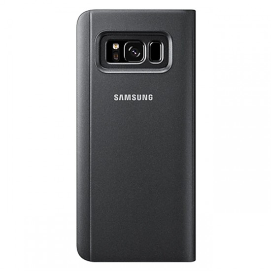 Clear View Flip Case bSmart Inactive - Samsung N970F Galaxy Note10 Black