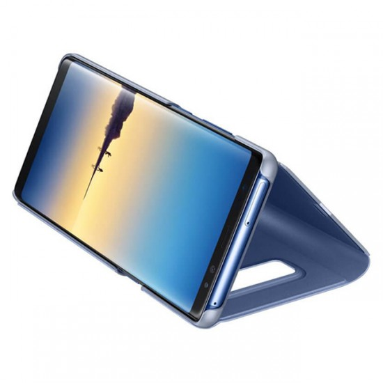 Clear View Flip Case bSmart Inactive - Samsung N975F Galaxy Note10 +, Blue