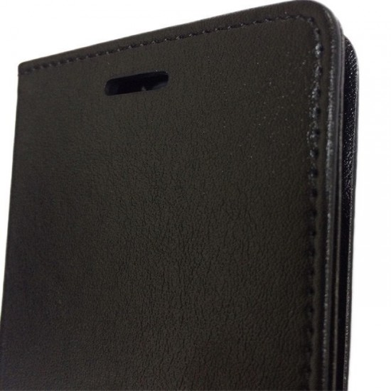 Book Case Flip Cover MBX Magnet - Huawei Honor 8, Black