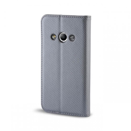 Book Case Flip Cover MBX Magnet - Huawei Honor 8, Gray