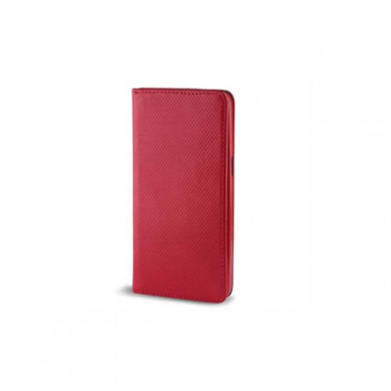 Book Case Flip Cover MBX Magnet - Huawei Ascend P10 Lite, Red