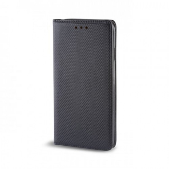 Book Case Flip Cover MBX Magnet - Samsung J610F Galaxy J6+, Black