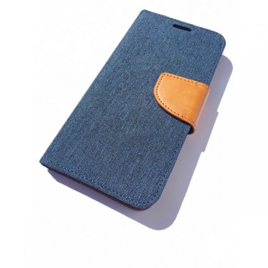 Book Flip Case Fancy - iPhone 5 / 5s, Blue