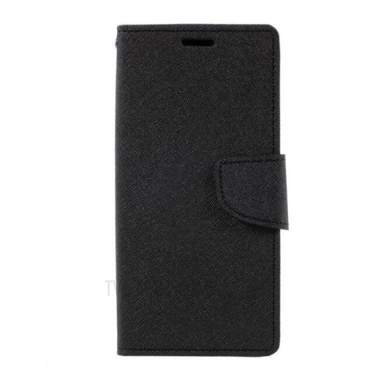 Book Flip Case Fancy - Samsung G950 Galaxy S8, Black