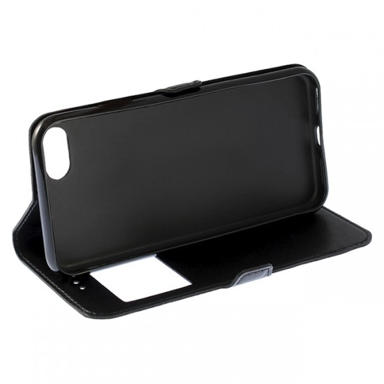 Bookcase iPAKY with 1 window - Huawei Ascend P10 Lite, Black