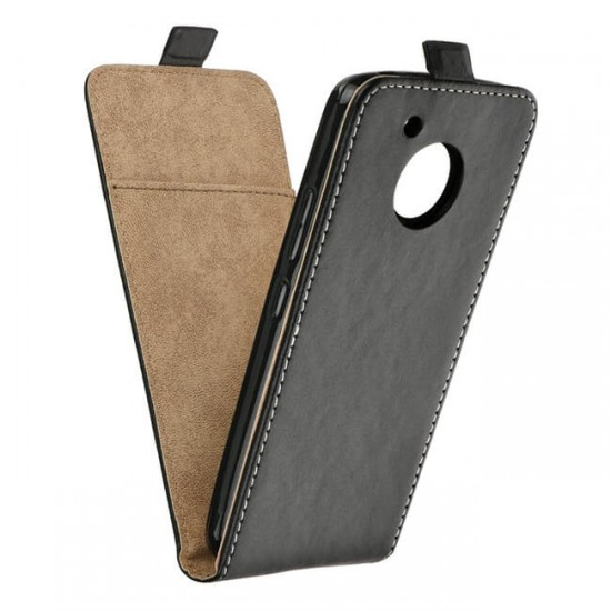 Flip Case Cover vertical MBX Flexi - Motorola Moto G5 Plus, Black