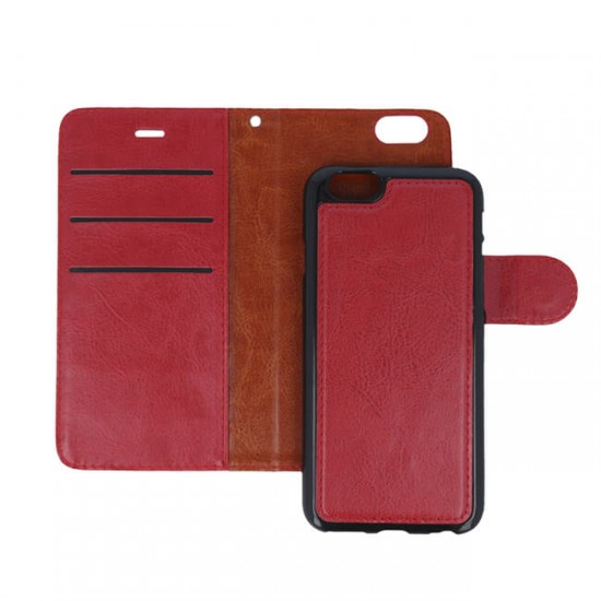 Bookcase Cover MBX Smart 2in1 - Huawei Ascend P9 Lite, Red