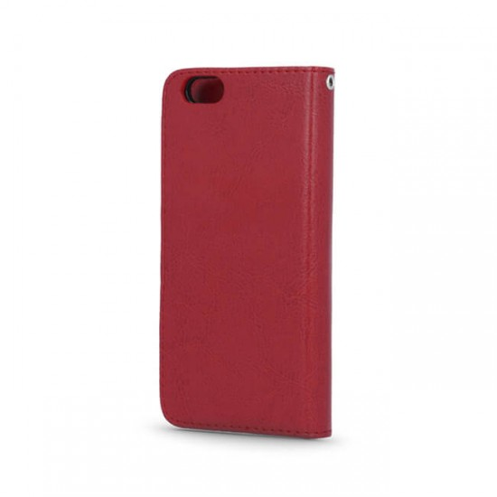 Bookcase Cover MBX Smart 2in1 - Samsung G920 Galaxy S6, Red