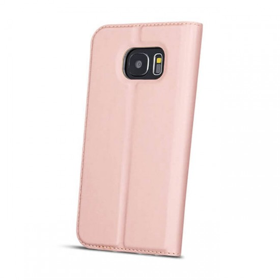 Case Cover Flip MBX Smart Look Side - Samsung G950 Galaxy S8, Pink Gold