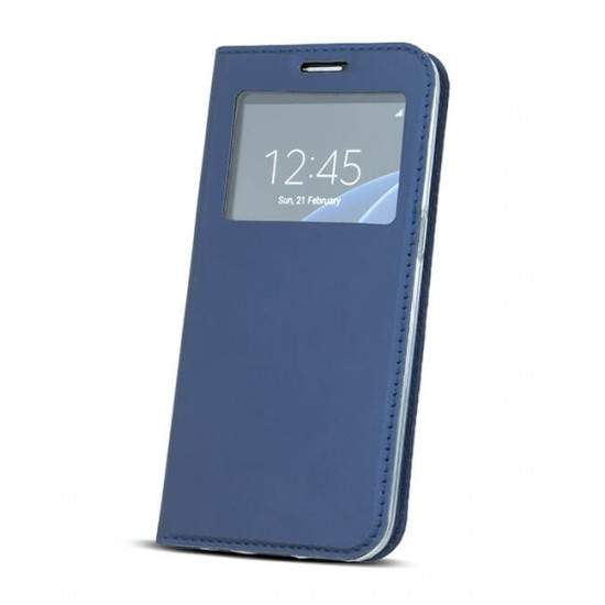 Case Cover Flip MBX Smart Look Side - Samsung G950 Galaxy S8, Blue