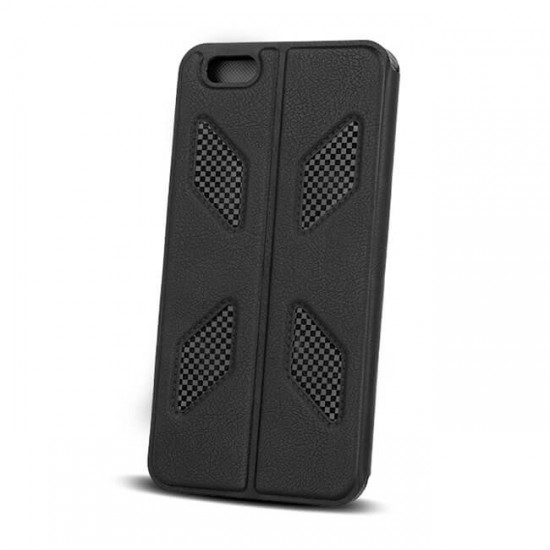 Book Case Cover MBX Smart Solid - iPhone 6 (4.7), Black