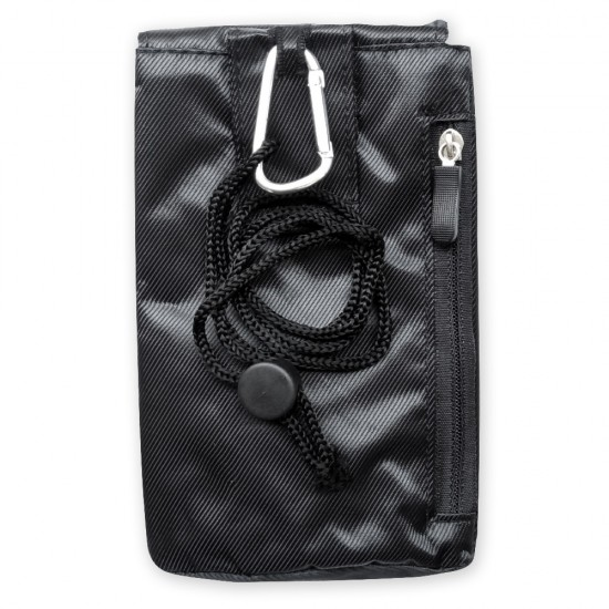 Калъф универсален джоб с връзка MBX G72 изчистен, Черен