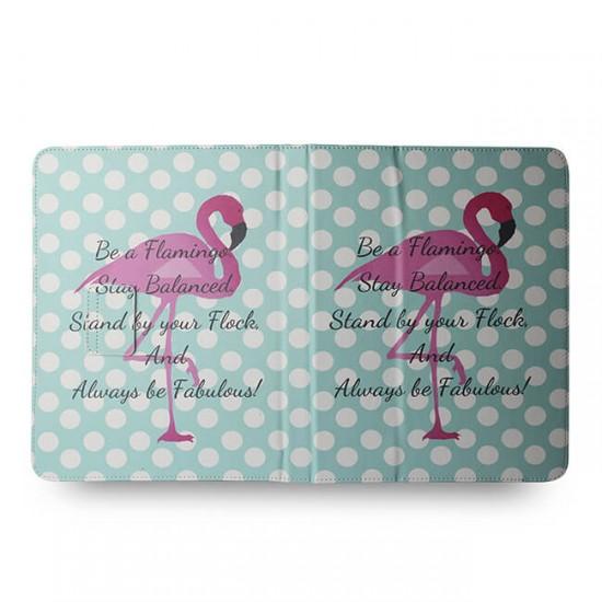 "Калъф за таблет MBX Fashion универсален 9-10"" инча, Многоцветен, Фламинго"