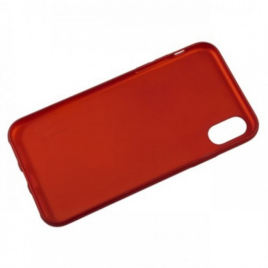 Silicone Back Case Baseus Design - Xiaomi Redmi 7A, Red