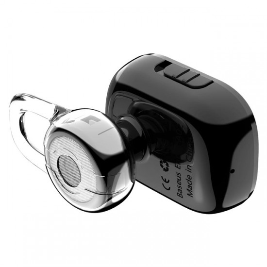 Bluetooth Headset Baseus Encok Mini A02, Black