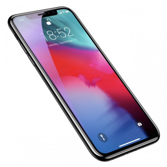 Glass Protector for Display Baseus tempered glass 3D / 5D Full Cover - iPhone XS Max, Black