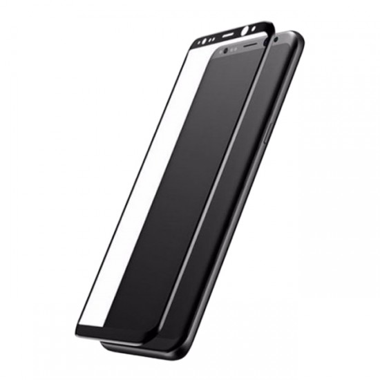 Glass Protector for Display Baseus tempered glass 3D / 5D Full Cover - Samsung G955 Galaxy S8 Plus, Black