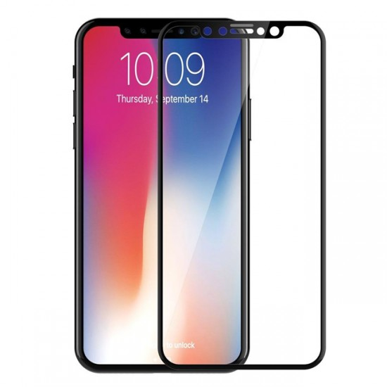 3D / 5D Glass Protector for display MBX tempered glass with full glue - Huawei Mate 20 Pro, Black