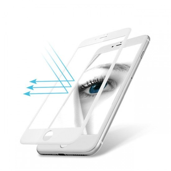 3D / 5D Glass Protector for display MBX tempered glass with full glue - iPhone 6 (5.5), White