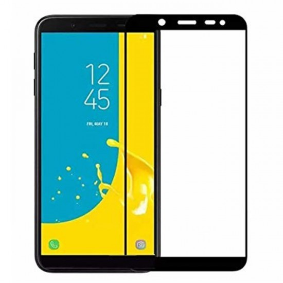 3D / 5D Glass Protector for display MBX tempered glass with full glue - Samsung J415F Galaxy J4 +, Black