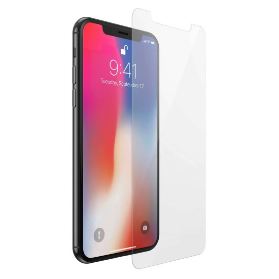 Glass protector for display MBX tempered glass - iPhone X / XS, Transparent