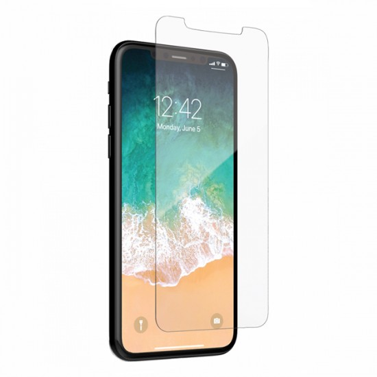 Glass protector for display MBX tempered glass - iPhone XS Max, Transparent