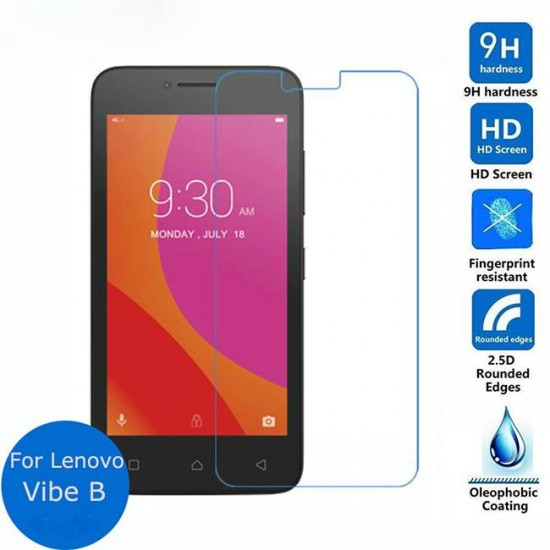 Glass protector for display MBX tempered glass - Lenovo Vibe B, Transparent