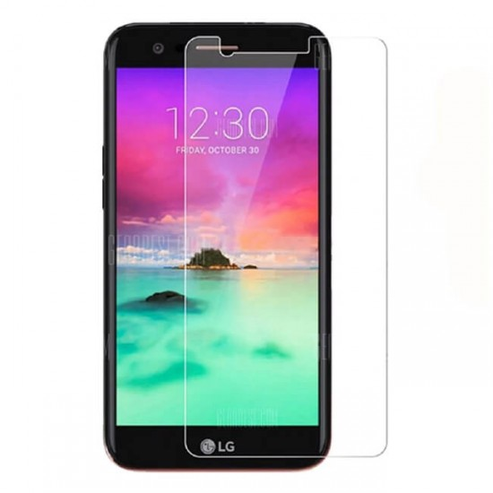 Glass protector for display MBX tempered glass - LG K10 (2018), Transparent