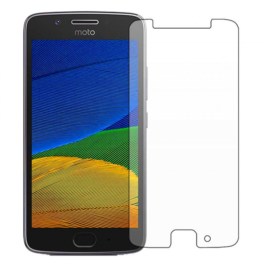 Glass protector for display MBX tempered glass - Motorola Moto G5, Transparent