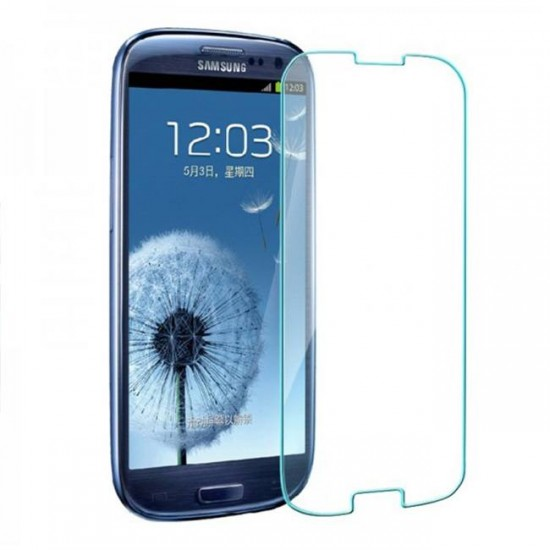 Glass protector for display MBX tempered glass - Samsung i9300 Galaxy S3, Transparent