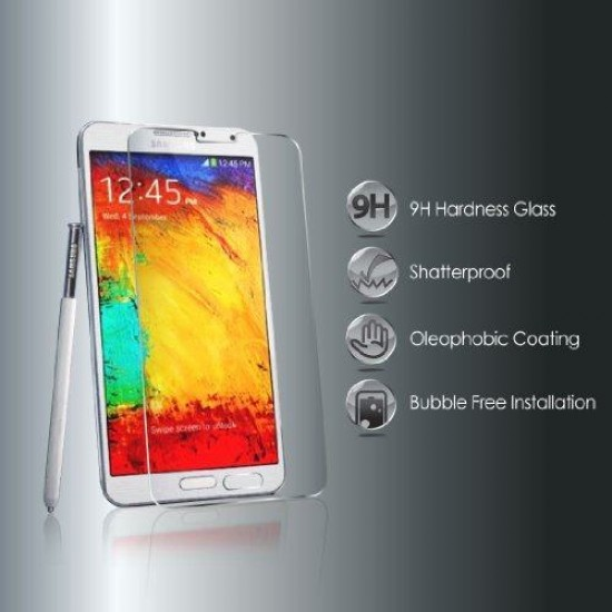 Glass protector for display MBX tempered glass - Samsung Galaxy N9000 Note 3, Transparent