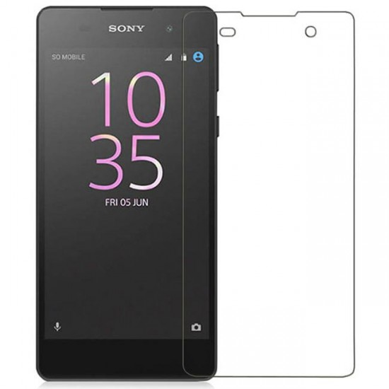 Glass protector for display MBX tempered glass - Sony Xperia E5, Transparent