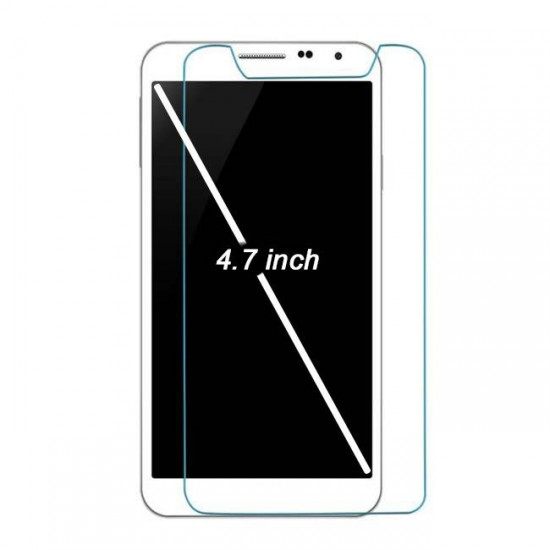 "Glass protector for display MBX tempered glass - universal - 4.7 "", Transparent"