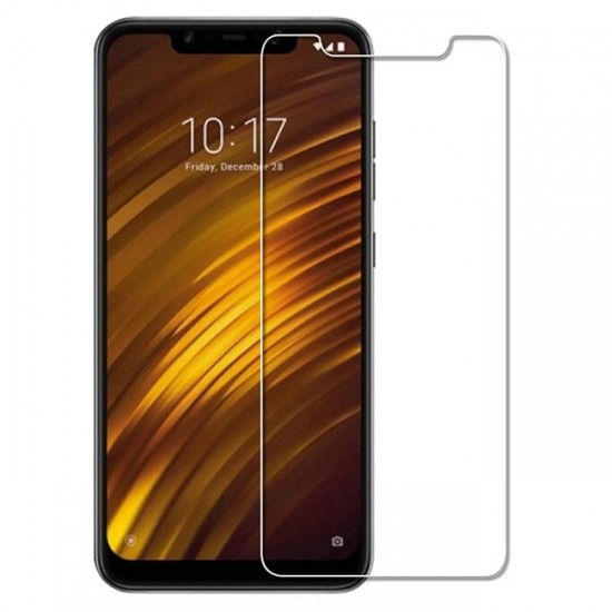 Glass protector for display MBX tempered glass - Xiaomi Pocophone F1, Transparent