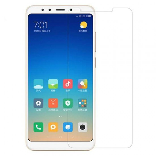 Glass protector for display MBX tempered glass - Xiaomi Redmi 5 Plus (Note 5), Transparent