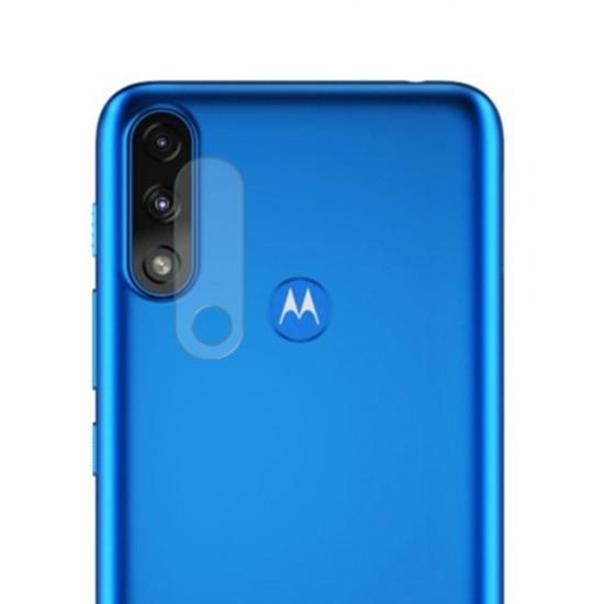 Стъклен протектор за задна камера MBX за Motorola Moto E7 Power, Прозрачен