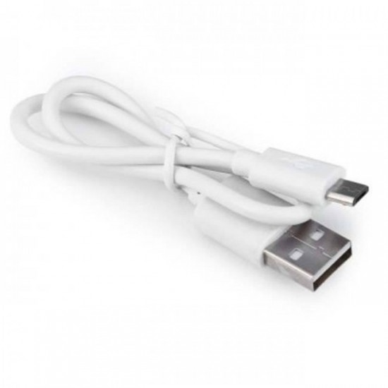 Външна батерия Power Bank bSmart 20000 mAh с 3 USB изхода, Бяла със сиво